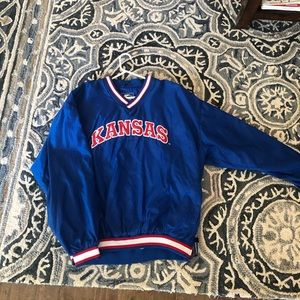 Kansas Jayhawks XXL Blue Windbreaker